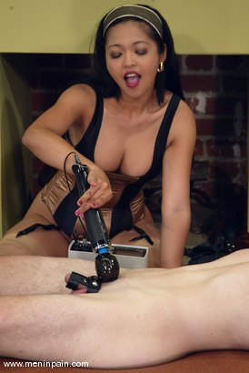 Photo number 7 from Mika Tan and Jack shot for Men In Pain on Kink.com. Featuring Mika Tan and Jack in hardcore BDSM & Fetish porn.
