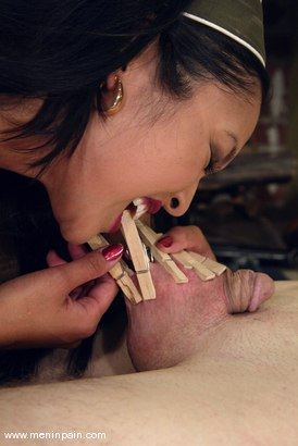 Photo number 6 from Mika Tan and Jack shot for Men In Pain on Kink.com. Featuring Mika Tan and Jack in hardcore BDSM & Fetish porn.