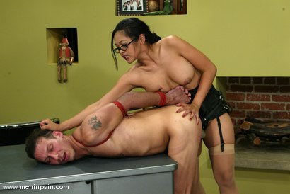 Photo number 14 from Mika Tan and Sebastian shot for Men In Pain on Kink.com. Featuring Mika Tan and Sebastian in hardcore BDSM & Fetish porn.
