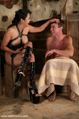 Photo number 15 from Mika Tan and Wild Bill shot for Men In Pain on Kink.com. Featuring Mika Tan and Wild Bill in hardcore BDSM & Fetish porn.