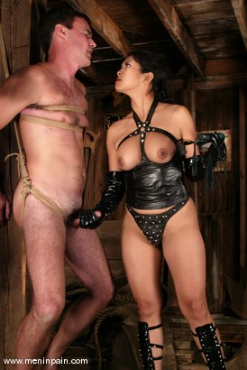 Photo number 6 from Mika Tan and Wild Bill shot for Men In Pain on Kink.com. Featuring Mika Tan and Wild Bill in hardcore BDSM & Fetish porn.