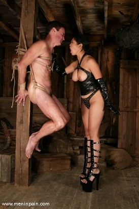 Photo number 10 from Mika Tan and Wild Bill shot for Men In Pain on Kink.com. Featuring Mika Tan and Wild Bill in hardcore BDSM & Fetish porn.