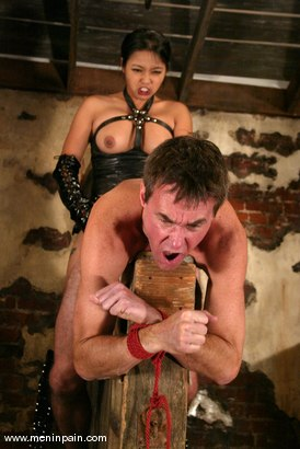 Photo number 12 from Mika Tan and Wild Bill shot for Men In Pain on Kink.com. Featuring Mika Tan and Wild Bill in hardcore BDSM & Fetish porn.