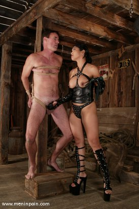 Photo number 9 from Mika Tan and Wild Bill shot for Men In Pain on Kink.com. Featuring Mika Tan and Wild Bill in hardcore BDSM & Fetish porn.