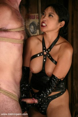 Photo number 8 from Mika Tan and Wild Bill shot for Men In Pain on Kink.com. Featuring Mika Tan and Wild Bill in hardcore BDSM & Fetish porn.