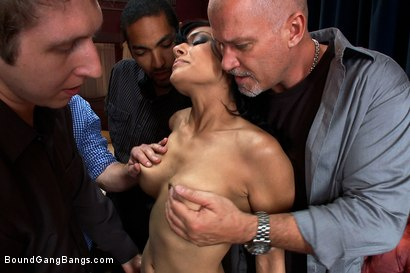 Photo number 3 from Hot Fiance Spies on her Grooms Bachelor Party and Gets Punished shot for Bound Gang Bangs on Kink.com. Featuring John Strong, Beretta James, Mickey Mod, Charlie Whitehorse, Mark Davis and Danny Wylde in hardcore BDSM & Fetish porn.