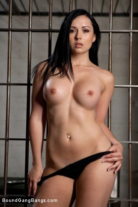 Photo number 2 from French Hottie gets pounded by 5 prison guards shot for Bound Gang Bangs on Kink.com. Featuring Ramon Nomar, Toni Ribas, John Strong, Mickey Mod, Prince Yahshua and Angell Summers in hardcore BDSM & Fetish porn.