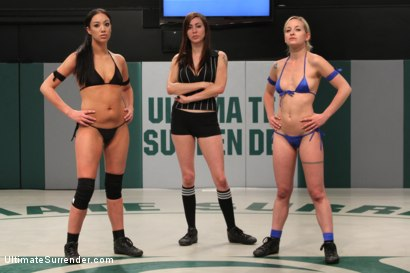 Photo number 1 from SUMMER VENGEANCE!!!! Bottom Ranked Wrestlers fight for Victory and a Chance to Move Ahead! shot for Ultimate Surrender on Kink.com. Featuring Shae Simone and Angelica Swiss in hardcore BDSM & Fetish porn.