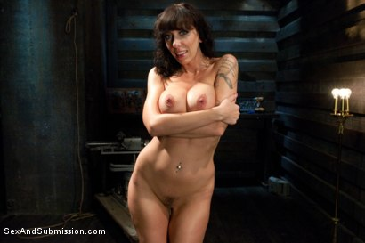 Photo number 15 from The Mechanic: Huge Natural Tits MILF Fucked and Dominated!  shot for sexandsubmission on Kink.com. Featuring Alia Janine and Mark Davis in hardcore BDSM & Fetish porn.
