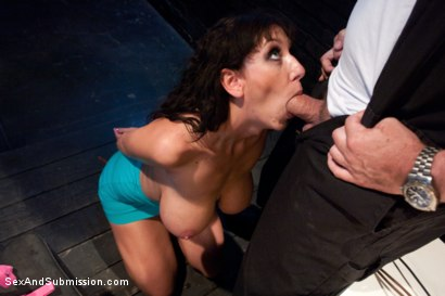Photo number 2 from The Mechanic: Huge Natural Tits MILF Fucked and Dominated!  shot for Sex And Submission on Kink.com. Featuring Alia Janine and Mark Davis in hardcore BDSM & Fetish porn.
