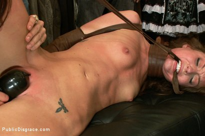 Photo number 7 from Nothing is Hard Enough for Maddy O'Reily......Until Today shot for Public Disgrace on Kink.com. Featuring James Deen and Maddy O'Reilly in hardcore BDSM & Fetish porn.