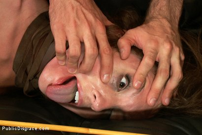 Photo number 4 from Nothing is Hard Enough for Maddy O'Reily......Until Today shot for Public Disgrace on Kink.com. Featuring James Deen and Maddy O'Reilly in hardcore BDSM & Fetish porn.