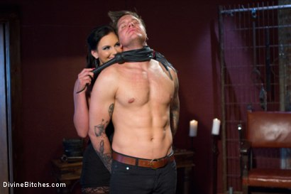 Photo number 5 from Goodbye Parker London: A Divine farewell administered by Phoenix Fucking Marie! shot for Divine Bitches on Kink.com. Featuring Parker London and Phoenix Marie in hardcore BDSM & Fetish porn.
