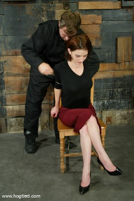Photo number 2 from Lynn Dumaire shot for Hogtied on Kink.com. Featuring Lynn Dumaire in hardcore BDSM & Fetish porn.