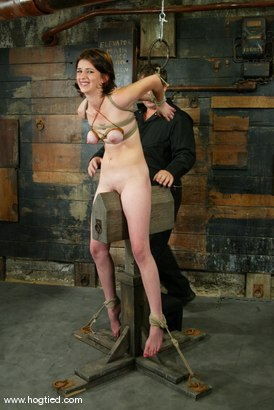 Photo number 4 from Lynn Dumaire shot for Hogtied on Kink.com. Featuring Lynn Dumaire in hardcore BDSM & Fetish porn.