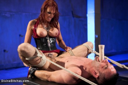 Photo number 11 from Chastity Humiliation shot for Divine Bitches on Kink.com. Featuring Jason Miller and Nicki Hunter in hardcore BDSM & Fetish porn.