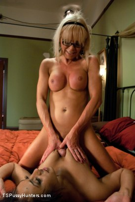 Photo number 8 from Power Play: Gorgeous TS Legend Joanna Jet Fucks a College Sorority Girl shot for TS Pussy Hunters on Kink.com. Featuring Eden Coxxx and Joanna Jet in hardcore BDSM & Fetish porn.
