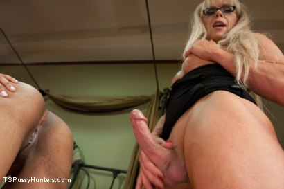 Power Play: Gorgeous TS Legend Joanna Jet Fucks a College Sorority Girl