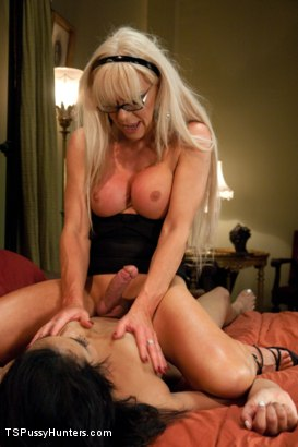 Photo number 5 from Power Play: Gorgeous TS Legend Joanna Jet Fucks a College Sorority Girl shot for TS Pussy Hunters on Kink.com. Featuring Eden Coxxx and Joanna Jet in hardcore BDSM & Fetish porn.