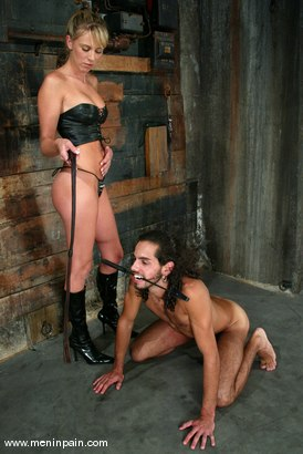 Photo number 5 from Dax Star and Audrey Leigh shot for Men In Pain on Kink.com. Featuring Dax Star and Audrey Leigh in hardcore BDSM & Fetish porn.