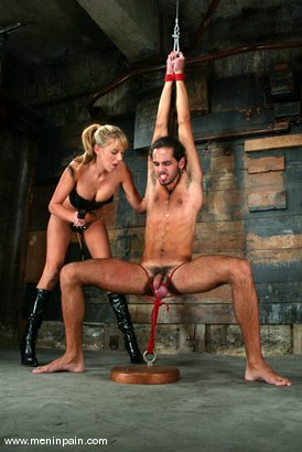 Photo number 1 from Dax Star and Audrey Leigh shot for Men In Pain on Kink.com. Featuring Dax Star and Audrey Leigh in hardcore BDSM & Fetish porn.