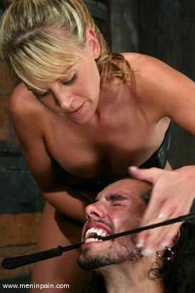 Photo number 7 from Dax Star and Audrey Leigh shot for Men In Pain on Kink.com. Featuring Dax Star and Audrey Leigh in hardcore BDSM & Fetish porn.