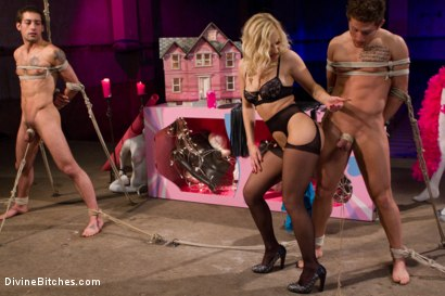 Photo number 4 from The most humiliating activity one can imagine, all for her pleasure. shot for Divine Bitches on Kink.com. Featuring Ashley Fires, DJ and Steve Sterling in hardcore BDSM & Fetish porn.