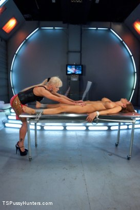 Photo number 1 from Sexy, Sexy, Sexiness: Rain DeGrey Cloned by Beautiful Ts Joanna Jet shot for TS Pussy Hunters on Kink.com. Featuring Joanna Jet and Rain DeGrey in hardcore BDSM & Fetish porn.