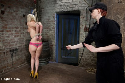 Photo number 6 from Cherry Torn Live Part 1 shot for Hogtied on Kink.com. Featuring Cherry Torn in hardcore BDSM & Fetish porn.