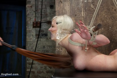 Photo number 9 from Cherry Torn Live Part 2 shot for Hogtied on Kink.com. Featuring Cherry Torn in hardcore BDSM & Fetish porn.
