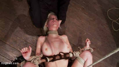 Photo number 12 from Cherry Torn Live Part 3 shot for Hogtied on Kink.com. Featuring Cherry Torn in hardcore BDSM & Fetish porn.