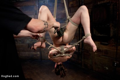 Photo number 15 from Cute red-head tests her masochistic tendencies with JP The Pope shot for Hogtied on Kink.com. Featuring Bonnie Day in hardcore BDSM & Fetish porn.