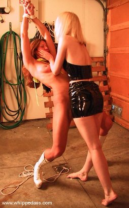 Photo number 9 from Kym Wilde, Cowgirl and Lily shot for Whipped Ass on Kink.com. Featuring Kym Wilde, Cowgirl and Lily in hardcore BDSM & Fetish porn.