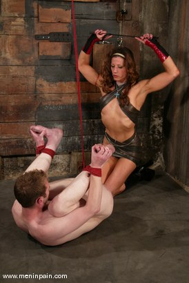 Photo number 3 from Gavin and Kym Wilde shot for Men In Pain on Kink.com. Featuring Gavin and Kym Wilde in hardcore BDSM & Fetish porn.