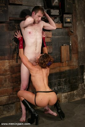 Photo number 10 from Gavin and Kym Wilde shot for Men In Pain on Kink.com. Featuring Gavin and Kym Wilde in hardcore BDSM & Fetish porn.