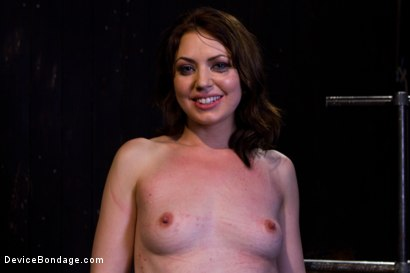 Photo number 2 from Sarah Shevon Suffers - Live Show Part 1 shot for Device Bondage on Kink.com. Featuring Sarah Shevon in hardcore BDSM & Fetish porn.