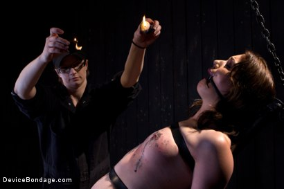 Photo number 8 from Sarah Shevon Suffers - Live Show Part 1 shot for Device Bondage on Kink.com. Featuring Sarah Shevon in hardcore BDSM & Fetish porn.