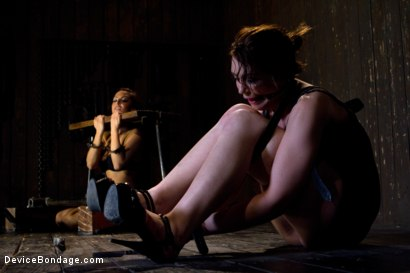 Photo number 5 from Sarah Shevon Suffers - Live Show Part 1 shot for Device Bondage on Kink.com. Featuring Sarah Shevon in hardcore BDSM & Fetish porn.