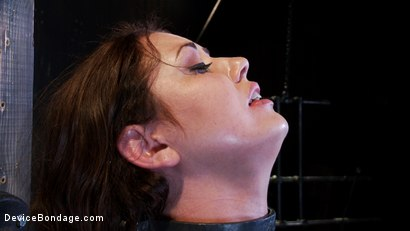 Photo number 10 from Sarah Shevon Suffers - Live Show Part 3 shot for Device Bondage on Kink.com. Featuring Sarah Shevon in hardcore BDSM & Fetish porn.