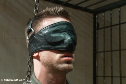 Photo number 2 from Bad-ass Inmate shot for Bound Gods on Kink.com. Featuring Christian Wilde and Troy Daniels in hardcore BDSM & Fetish porn.