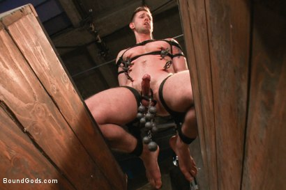 Photo number 10 from Bad-ass Inmate shot for Bound Gods on Kink.com. Featuring Christian Wilde and Troy Daniels in hardcore BDSM & Fetish porn.