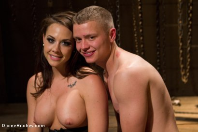 Photo number 7 from The Premature Ejaculator shot for Divine Bitches on Kink.com. Featuring Chanel Preston and Micah Andrews in hardcore BDSM & Fetish porn.