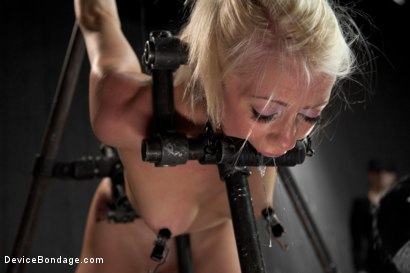 Photo number 7 from Lorelei Lee is Bent in Unforgiving Device Bondage shot for Device Bondage on Kink.com. Featuring Lorelei Lee in hardcore BDSM & Fetish porn.