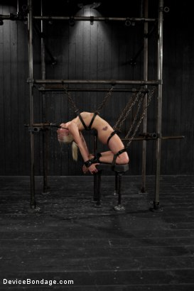 Photo number 11 from Lorelei Lee is Bent in Unforgiving Device Bondage shot for Device Bondage on Kink.com. Featuring Lorelei Lee in hardcore BDSM & Fetish porn.