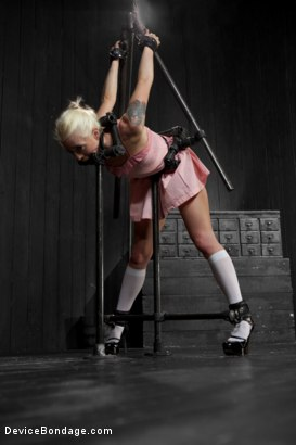 Photo number 2 from Lorelei Lee is Bent in Unforgiving Device Bondage shot for Device Bondage on Kink.com. Featuring Lorelei Lee in hardcore BDSM & Fetish porn.