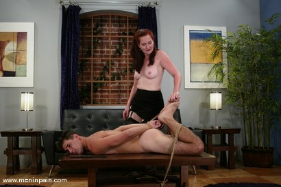 Photo number 2 from Tungboy and Sylviana shot for Men In Pain on Kink.com. Featuring Sylviana and Tungboy in hardcore BDSM & Fetish porn.