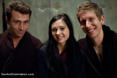 Photo number 15 from Sins of Sister Summers shot for sexandsubmission on Kink.com. Featuring James Deen, Danny Wylde and Angell Summers in hardcore BDSM & Fetish porn.