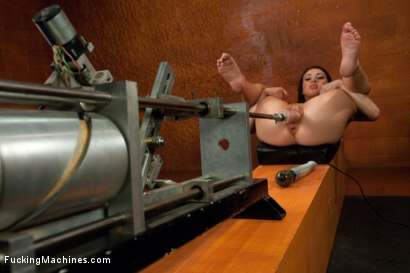 Photo number 11 from Hot French Babe Tied Up, Machine fucked and Fisted by Robot Hands  shot for Fucking Machines on Kink.com. Featuring Tiffany Doll in hardcore BDSM & Fetish porn.