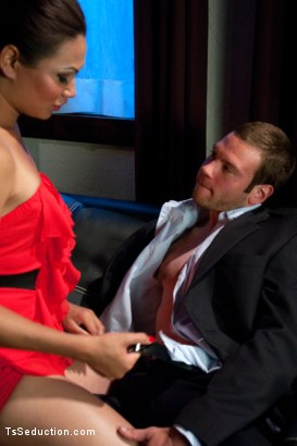 Photo number 2 from Brand NEW Ts Fucking Sensation: Annalise Rose at a Swinger Party shot for TS Seduction on Kink.com. Featuring Annalise Rose and Jesse Carl in hardcore BDSM & Fetish porn.
