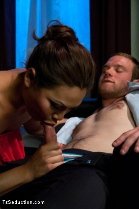 Photo number 3 from Brand NEW Ts Fucking Sensation: Annalise Rose at a Swinger Party shot for TS Seduction on Kink.com. Featuring Annalise Rose and Jesse Carl in hardcore BDSM & Fetish porn.